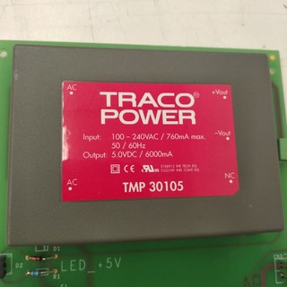 Embedded Switch Mode Power Supply SMPS, 5VDC 6A